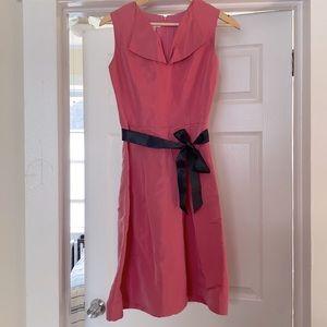 🔥 silk Oscar de la Renta vintage dress satc